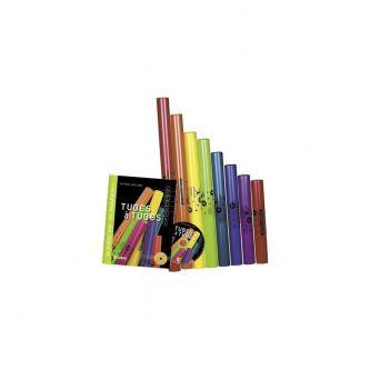 Livre CD Tubes à Tubes + 8 Tubes Boomwackers Alto chromatique