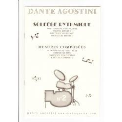 AGOSTINI Dante : Solfège rythmique Vol. 2