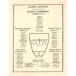AGOSTINI Dante : Solfège rythmique Vol. 3