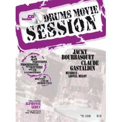 BOURBASQUET Jacky et CASTALDIN Claude : Drums Movie Session