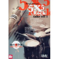 "USMANN Klaus : 5x5 Rock ""Take off 1"""